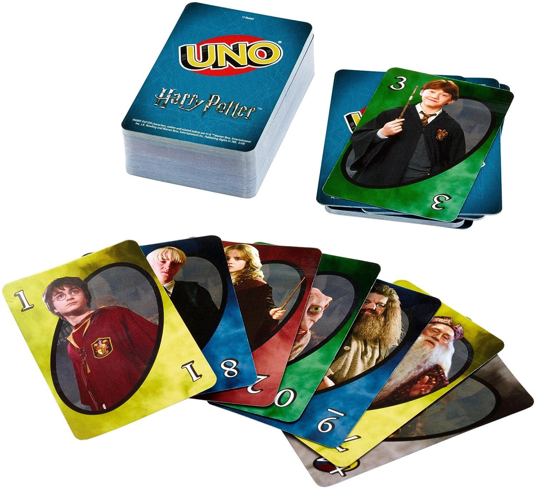 Mattel Games Uno Harry Potter.
