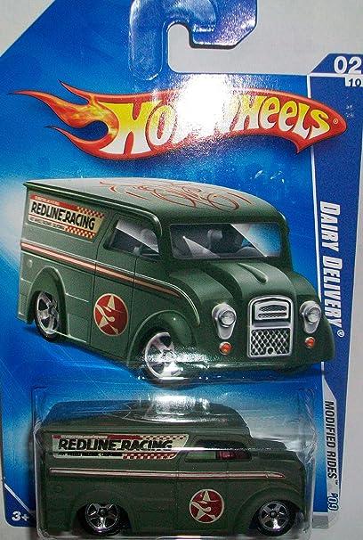 Amazon com: Hot Wheels 2009-158 Dairy Delivery Redline Racing