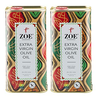 ZOE Extra Virgin Olive Oil 1L Tin