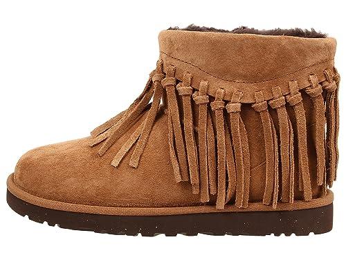 e6154b2b734 UGG Australia Wynona Fringe Women's Suede Ankle Boot