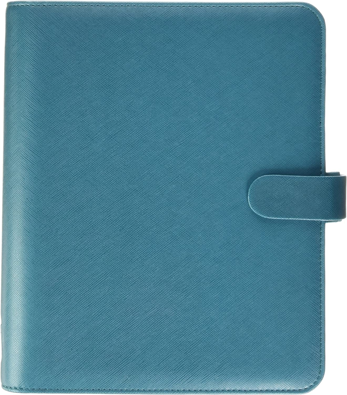 Filofax Saffiano A5 Organiser Aquamarine