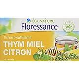 Floressance Phytothérapie Tisane Thym Miel Citron 20 sachets - Lot de 6