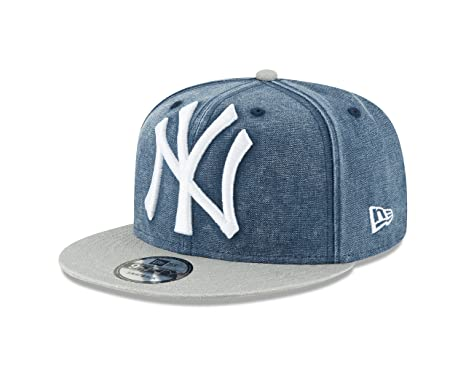 official photos 932bf cb501 Image Unavailable. Image not available for. Color  New Era York Yankees  RUSHED 2TONE Snapback 9Fifty MLB Adjustable Hat