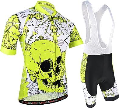 BXIO Maillot Ciclismo Hombre, Ropa Ciclismo y Culotte Ciclismo ...
