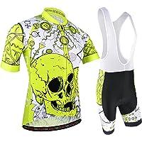 BXIO Maillot Ciclismo Hombre, Ropa Ciclismo y Culotte