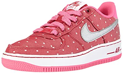 53c338c490 Amazon.com | Nike Air Force 1 Big Kids Girls Court Sneakers Shoes ...