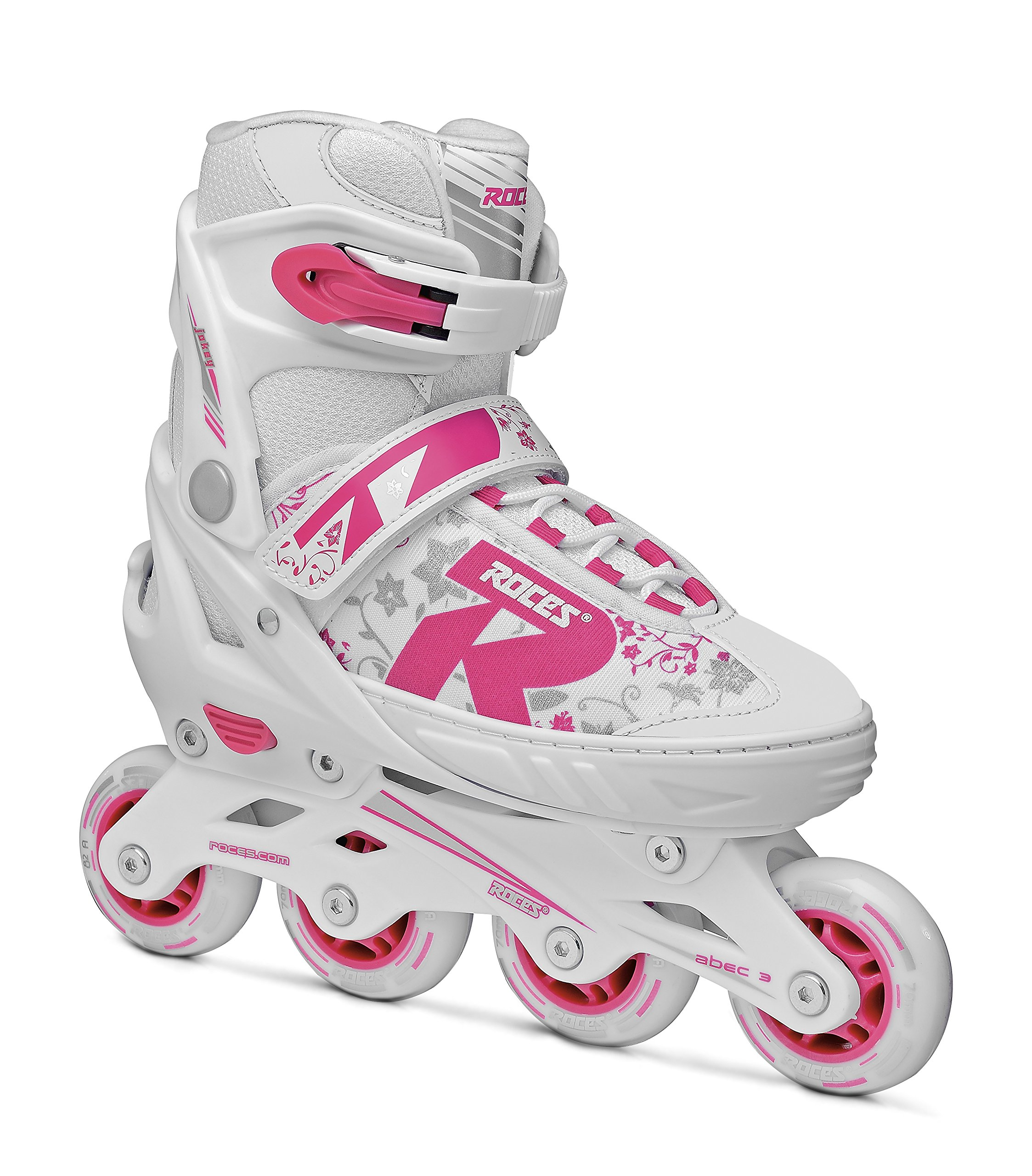 Inline-Skates Compy 8.0 Roces Compy 8.0 Girls Inline Skates White-Violet Girls