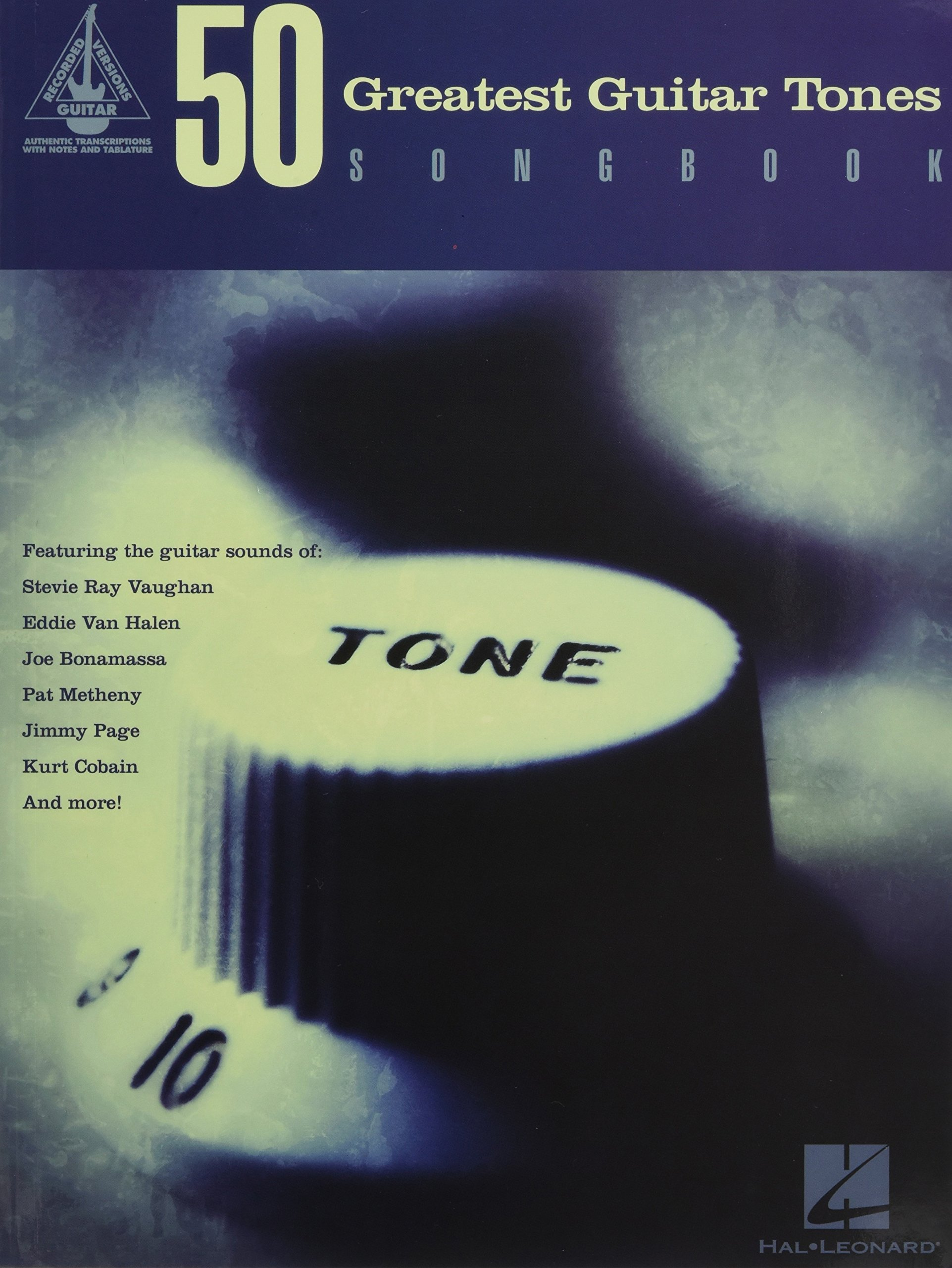 50 Greatest Guitar Tones Songbook (Guitar Recorded Versions) ebook