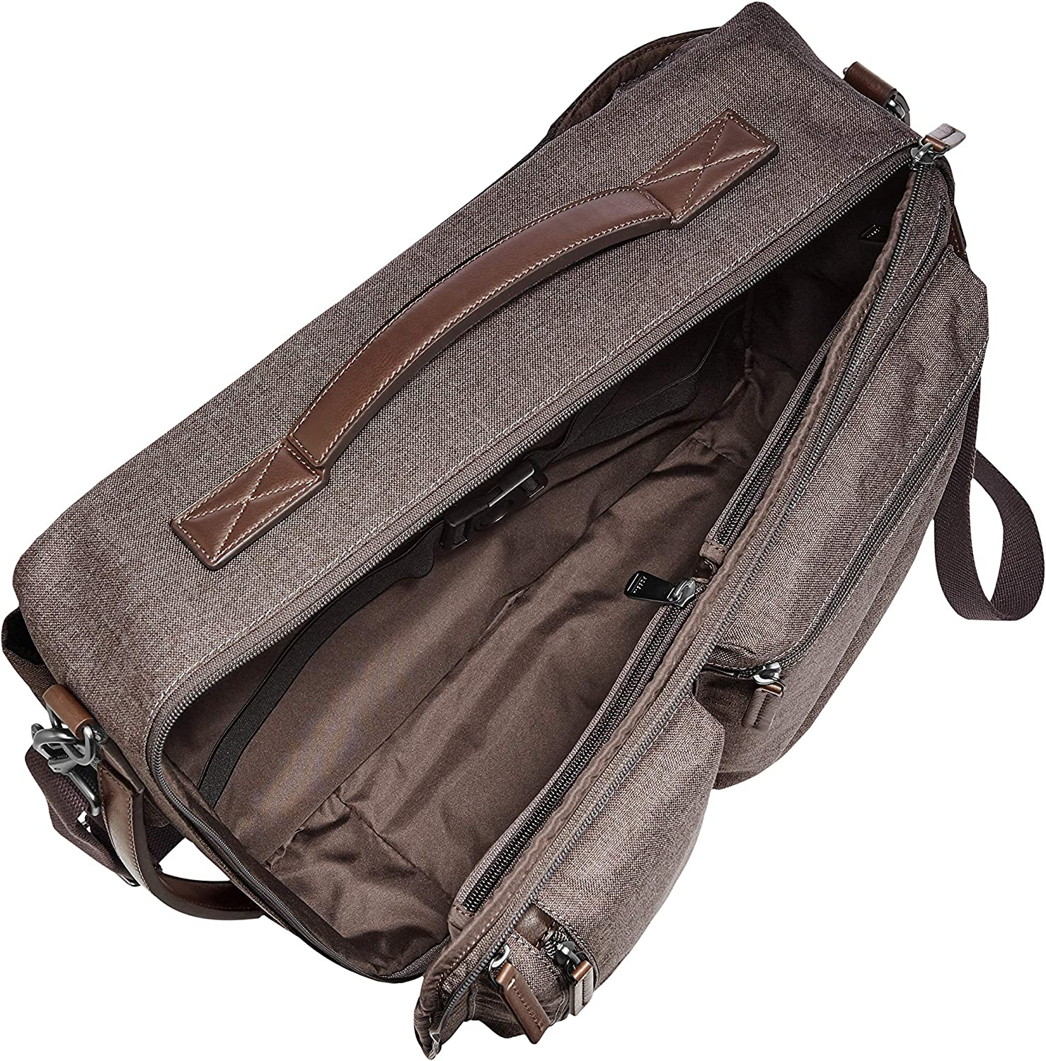 Fossil Mens Buckner Convertible Backpack and Briefcase