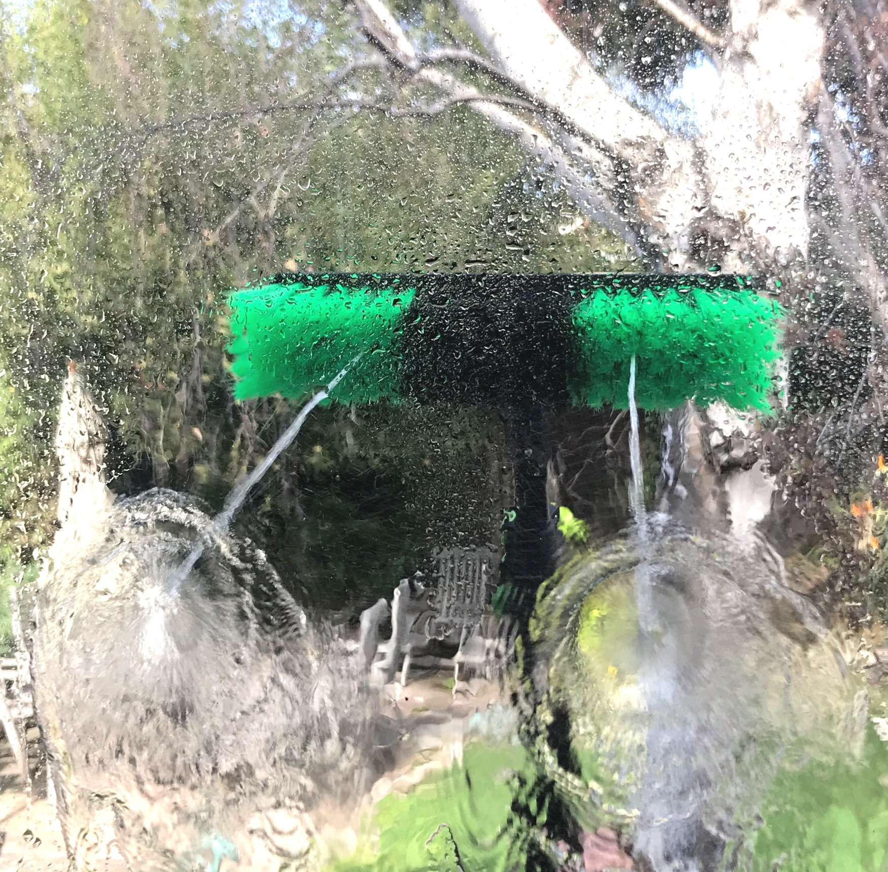 30 ft Water Fed Pole, Window & Solar Panel Cleaning Tool with Brush & Squeegee AquaSpray by EquipMaxx by EquipMaxx AquaSpray (Image #2)