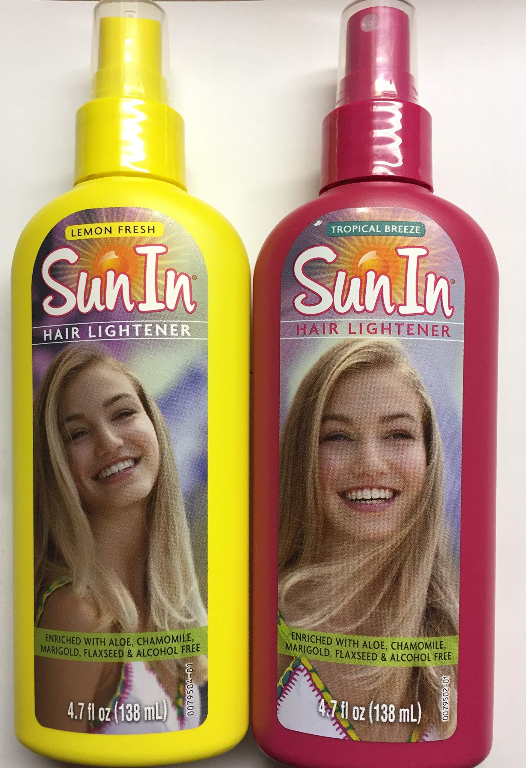 Sun-in Sun In Hair Lightener, Tropical Breeze & Lemon Fresh Combo