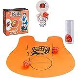 Bathroom Basketball | Slam Dunk Toilet Basketball Set | Toilet Basketball Game | Fun Potty Time | Hilarious Gift Ideas