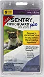 SENTRY Fiproguard Plus for Cats, Squeeze-On