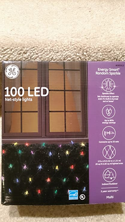 Ge Energy Smart Elegant Sparkling Multicolor Led Plug In  Indoor