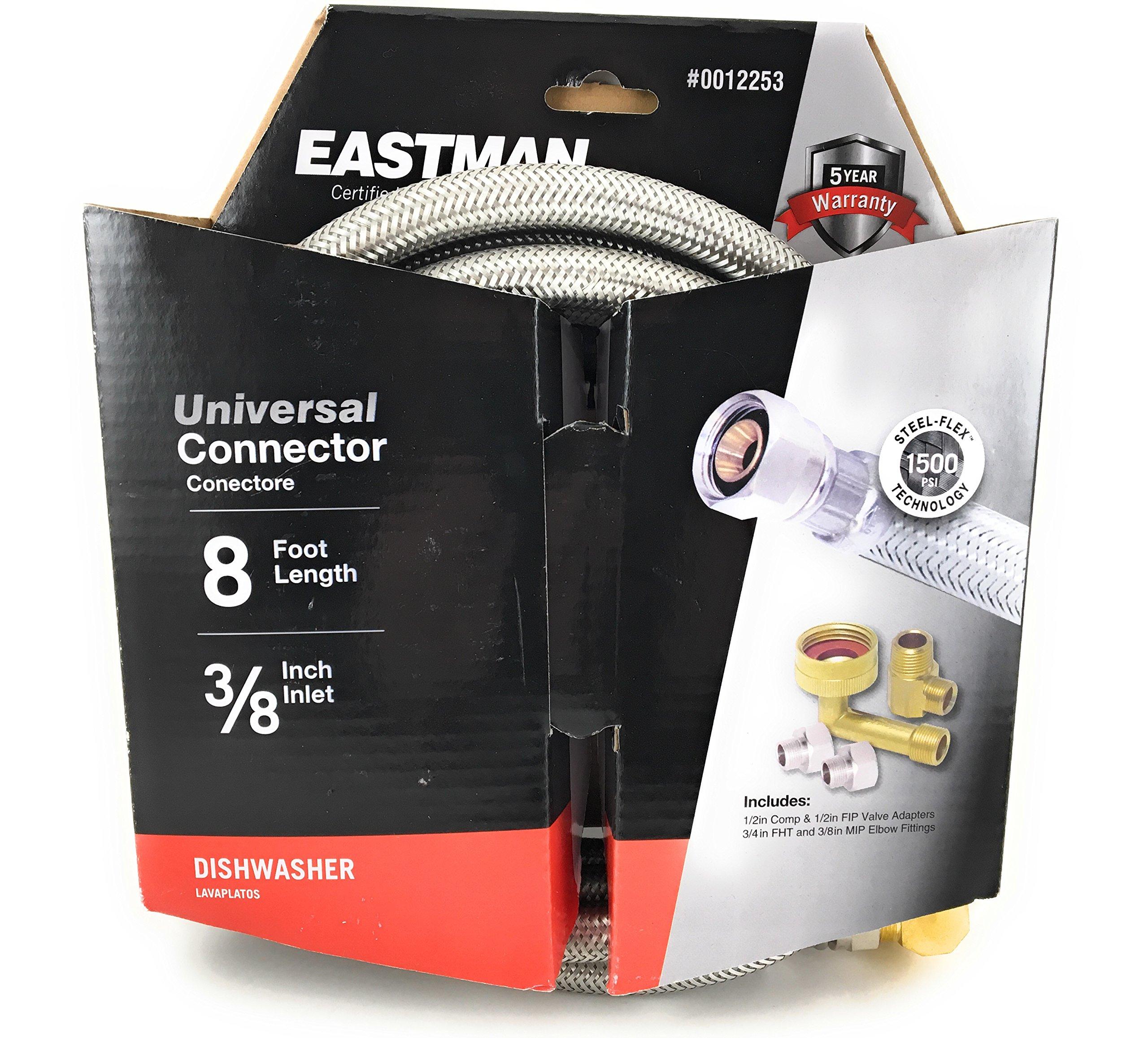 Eastman 8' Universal Dishwasher Connector