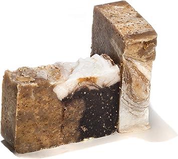 Miel jabón de harina de avena Bar – Organic Herbal Bar terapéutico aceites esenciales. Cuerpo Hidratante Jabón para la piel y Face. Con Manteca De Karité, aceite de coco y glicerina: Amazon.es: