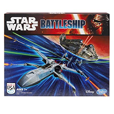 Battleship: Star Wars Edition Game: Toys & Games