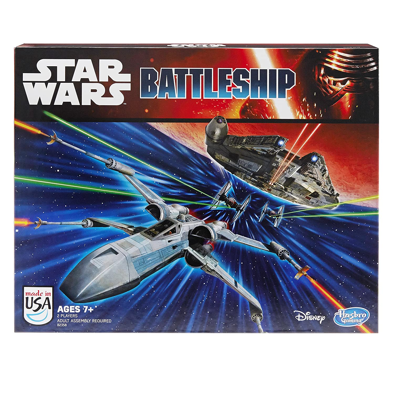Hasbro Playsets Star Wars Battleship para 2 jugadores (B2358)
