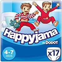 Dodot Happyjama - Pañales para Niño, 4-7 años