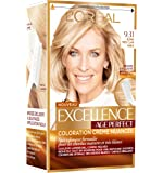 L'Oréal Paris - Excellence Age Perfect - Coloration Permanente Cheveux Matures & Très Blancs - Nuance 9,31 Blond Très Clair Sable