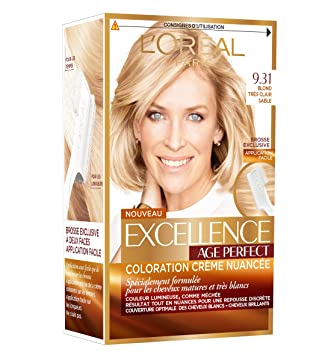 Coloration cheveux blancs l'oreal