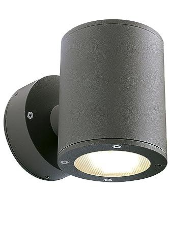 SLV Wandlampe SITRA für die Außenbeleuchtung von Wänden, Wegen, Eingängen |  LED Strahler, Wandleuchte, Up- and Down-Light, Aussenleuchte, ...