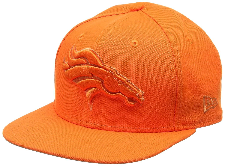 New Era Herren 9FIFTY Snapback Metallic Mark Denver Broncos NFL Cap, Orange NEXF3|#New Era 80484092