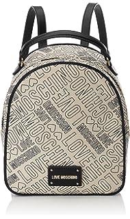 Borsa Soft Nappa Pu Blu, Womens Backpack Handbag, Blue, 11x30x28 cm (B x H T) Love Moschino