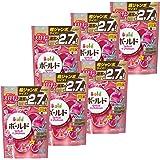 【ケース販売】 ボールド 洗濯洗剤 液体 ジェルボール プラチナブロッサム&ピオニーの香り 詰め替え 超ジャンボサイズ 940g (48個入り)×6個