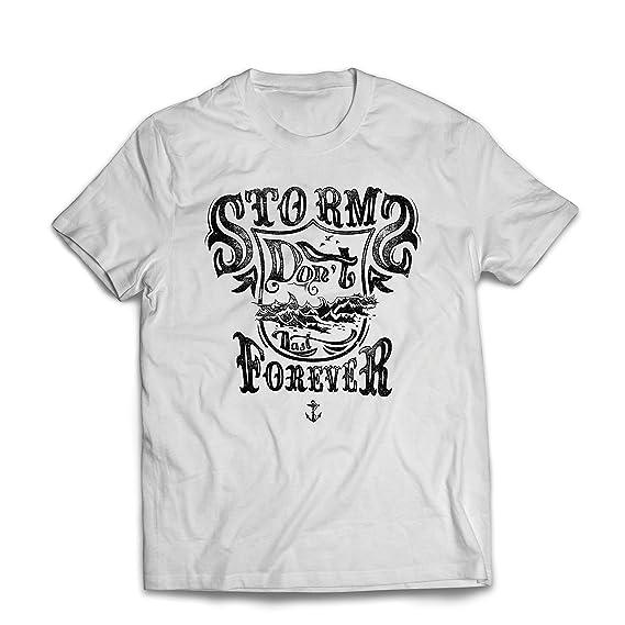lepni.me Camisetas Hombre Tormenta no Dura para Siempre: Mejores Frases: Amazon.es: Ropa y accesorios