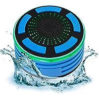 Portable IP67 Waterproof Bluetooth Speaker - Blue