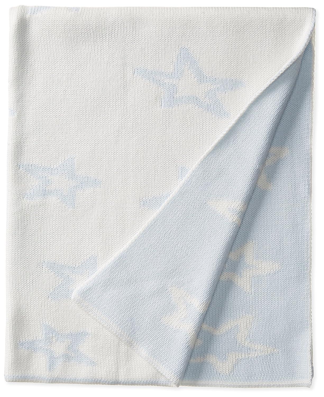 Amazon com widgeon baby girls newborn cotton baby blanket baby blue bears one size clothing