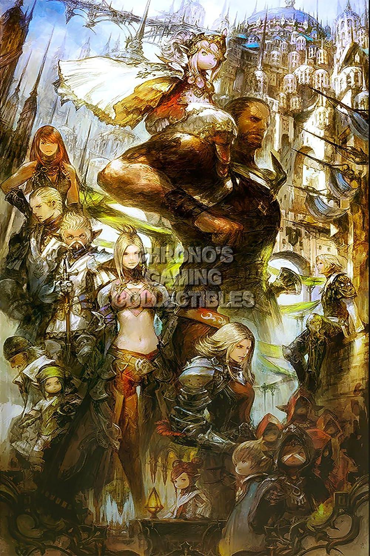 CGC Huge Poster - Final Fantasy XIV A Realm Reborn PS3 PS4 XBOX 360 PC - FXIV007 (16
