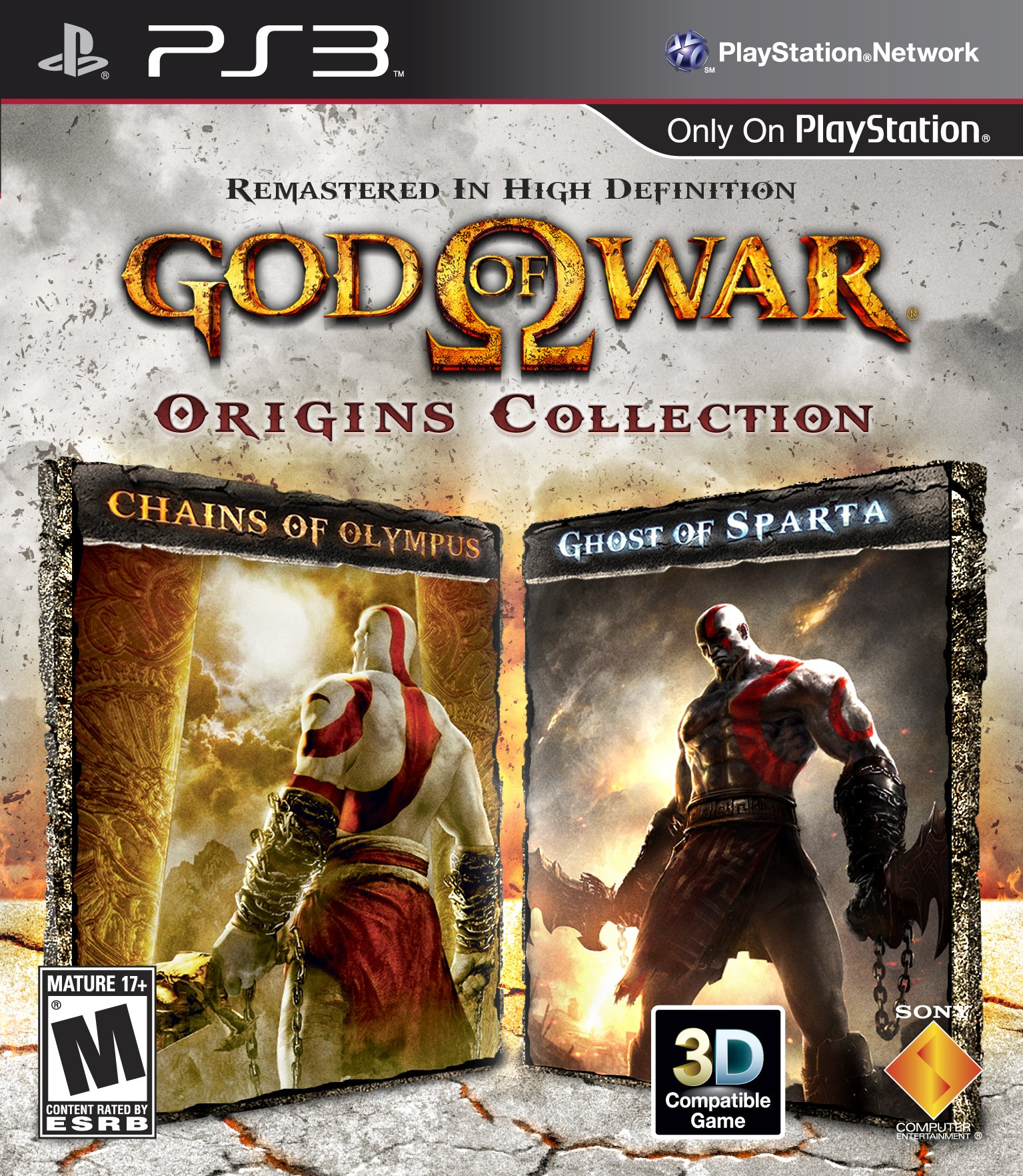 PS3 : God of War Origins Collection - Playstation 3
