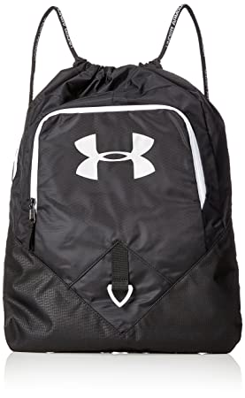 Under Armour UA Undeniable Sackpack Mochila, Unisex Adultos, Negro (Negro)