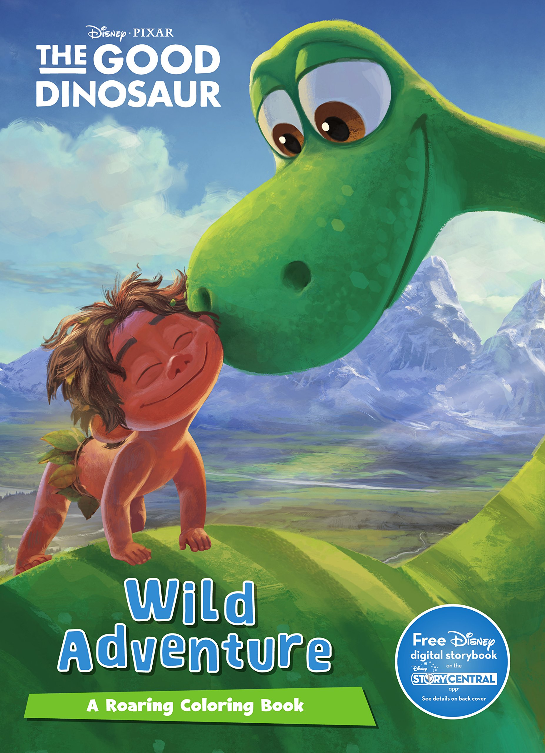 Disney Pixar the Good Dinosaur Mega Coloring: Parragon Books Ltd ...