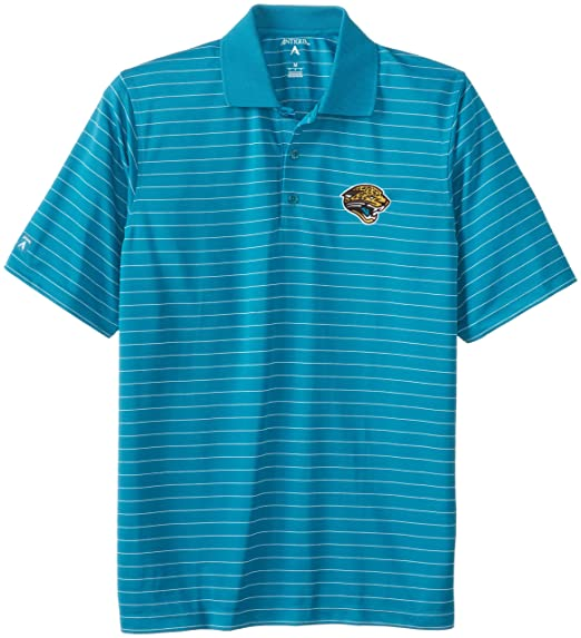 NFL Men s Jacksonville Jaguars Elevate Desert Dry Polo Shirt (Teal White 4f5f8424f
