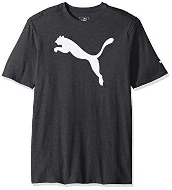 55fa4105a PUMA Men's Big Cat Graphic T-Shirt, Black Heather White, Small