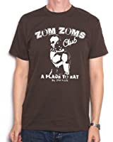 Zom Zoms, a Place to Eat T Shirt à synth Pop Inspired Old Skool hooligans original