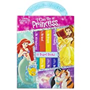 Disney Princess I Can Be a Princess Deluxe My First Library 12 Board Book Collection (9781450840415)-PI Kids