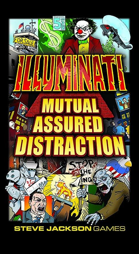Steve Jackson Games Illuminati Mutual Assured Distraction Card Game