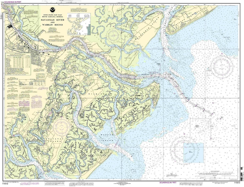 NOAA 5-Savannah River and Wassaw Sound