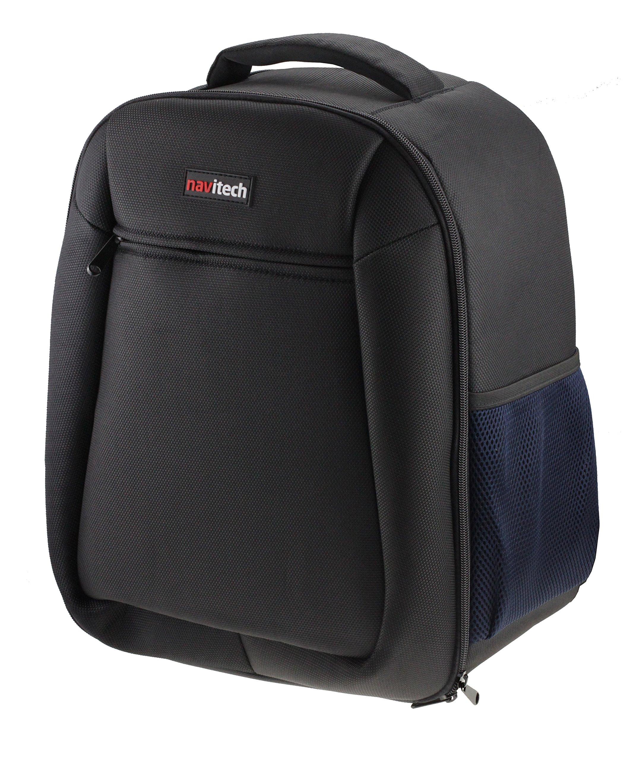 Navitech Rugged Black Backpack/Rucksack for The Oculus Rift + Oculus Touch Controller by Navitech (Image #2)