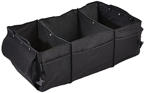 Kofferraumtasche 50 x 22 x 14 Werkzeug Tasche schwarz Klett Druckknopf faltbar