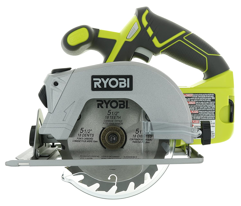 Ryobi 18V 5 1/2 Inch 4,700 RPM Cordless Circular Saw