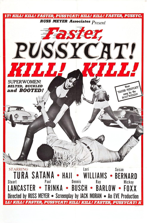 Amazon.com: Faster Pussycat, Kill! Kill! (1965) Movie Poster Russ Meyer  24x36: Posters & Prints