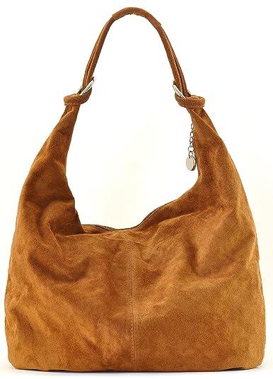 ac9f50db9f951 OH MY BAG Handtasche aus nubukleder leder