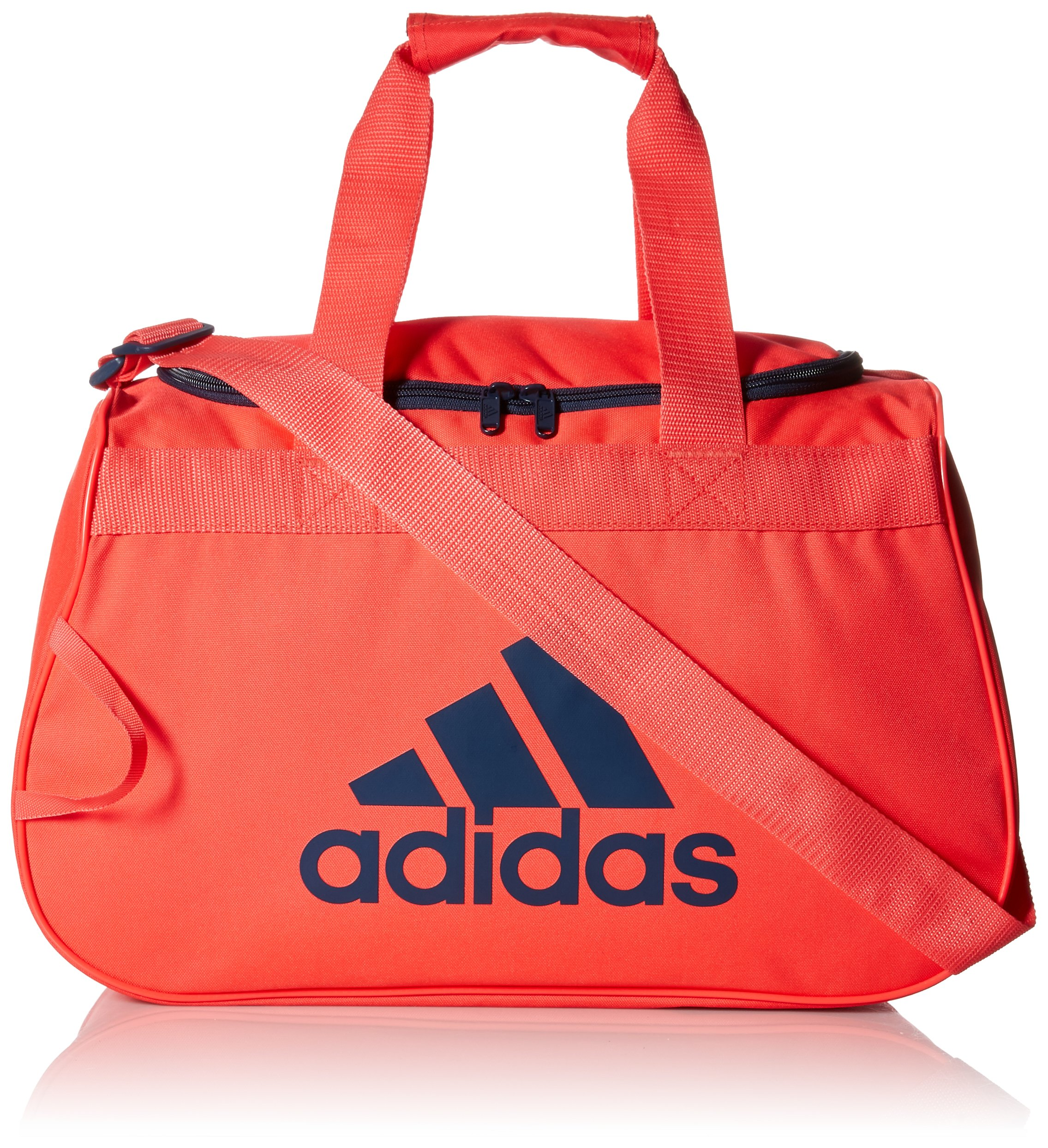 adidas Diablo Small Duffel Bag, Shock Red/Mineral, One Size
