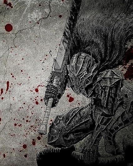 Amazoncom Berserk Poster Anime Japanese Manga Wall Art Decor 16x20
