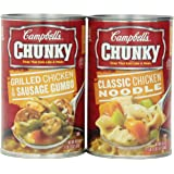 Campbell's Chunky Soup, Variety Pack, 18.6 Ounce (Pack of 6)